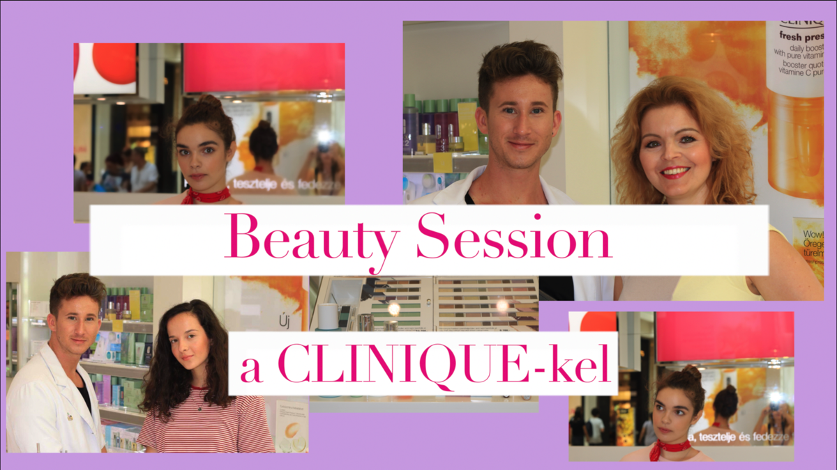 Beauty Session a Clinique -kel: No Make Up Make Up + Szemhangsúlyos Smink